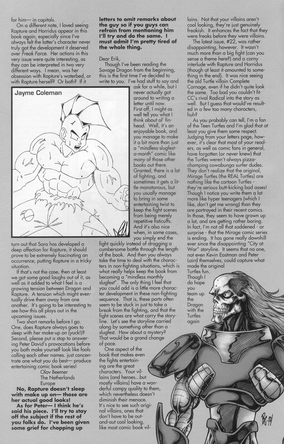 The Savage Dragon (1993) Issue #23 #26 - English 29