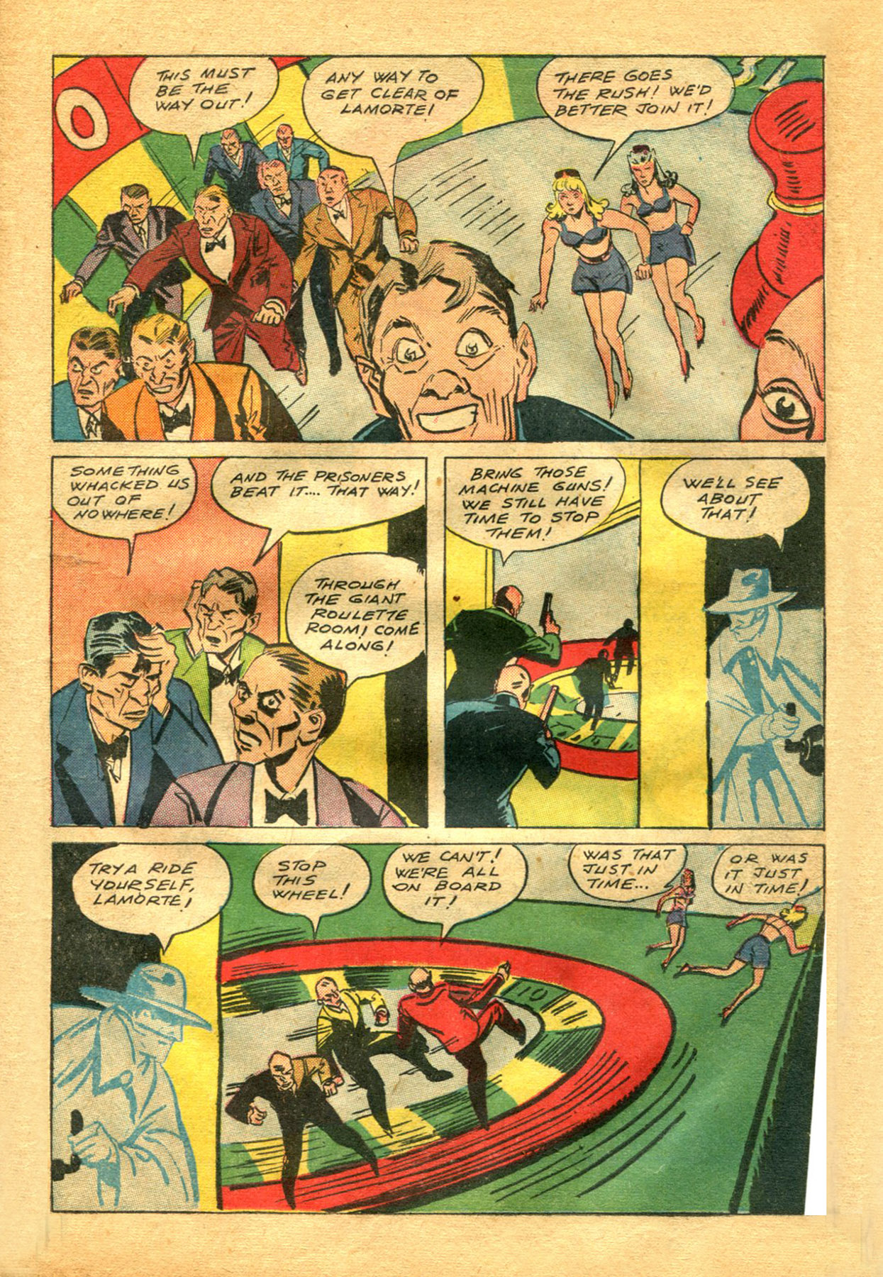Read online Shadow Comics comic -  Issue #48 - 15