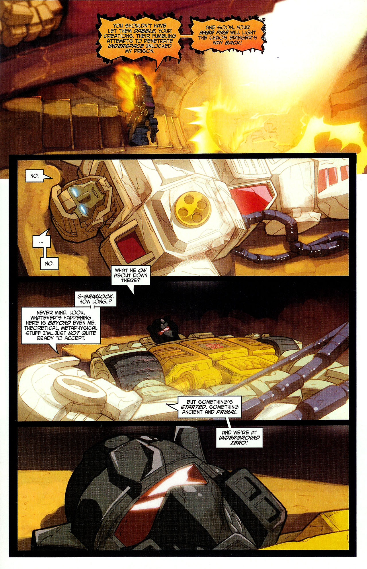 "Read online Transformers War Within: ""The Dark Ages"" comic -  Issue #6 - 5"