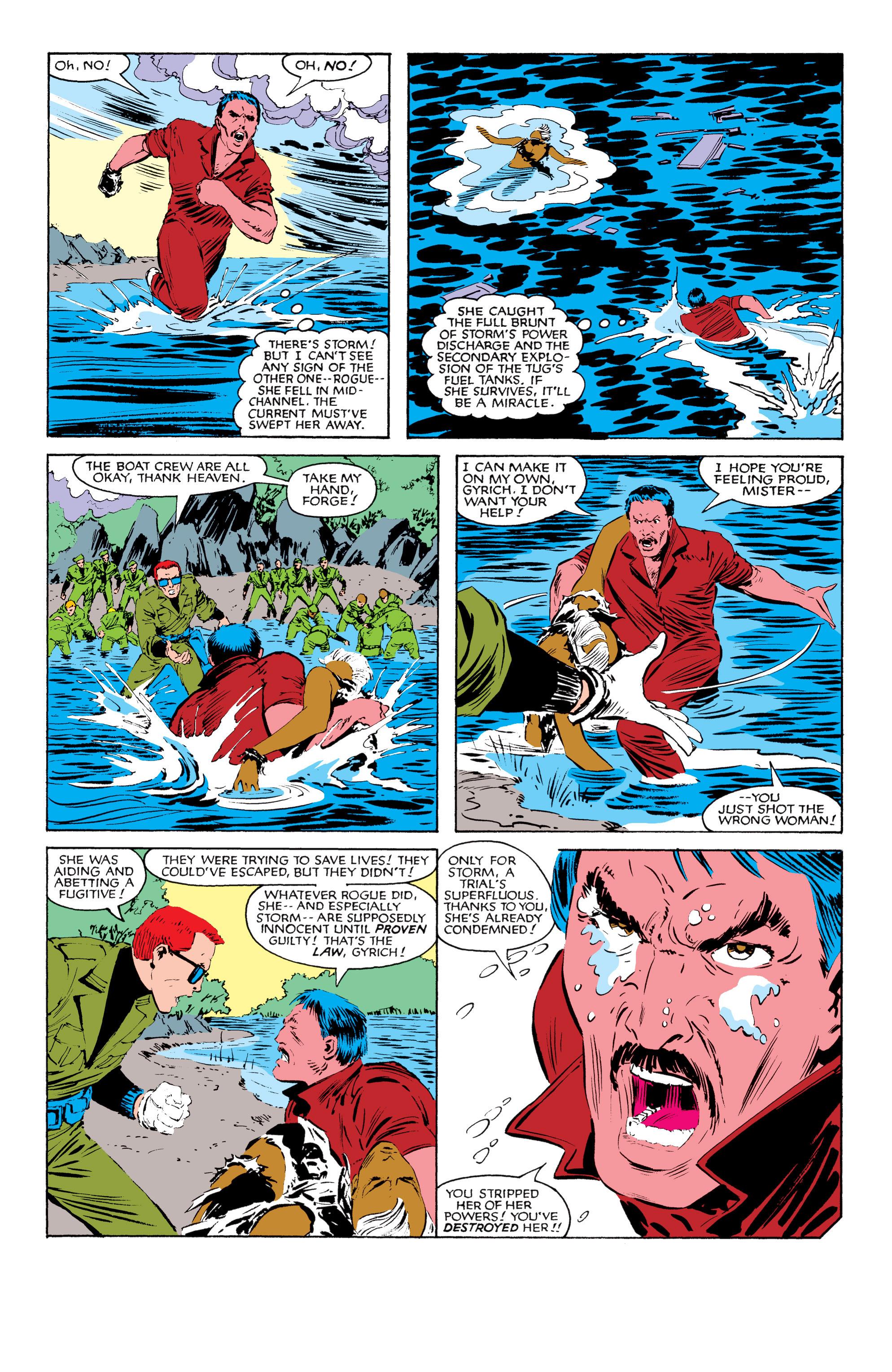 Read online Uncanny X-Men (1963) comic -  Issue #185 - 22