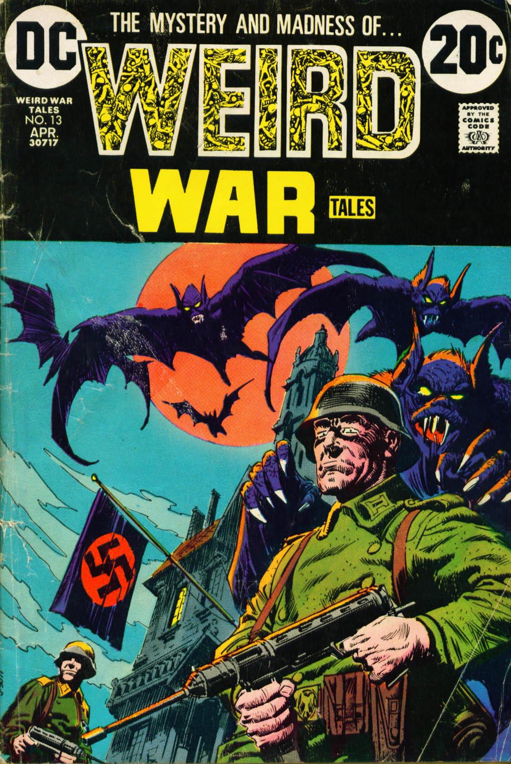 Weird War Tales (1971) issue 13 - Page 1