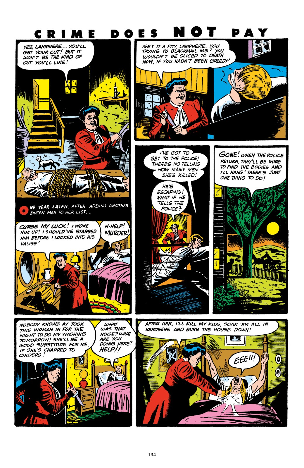 Read online Crime Does Not Pay Archives comic -  Issue # TPB 6 (Part 2) - 36