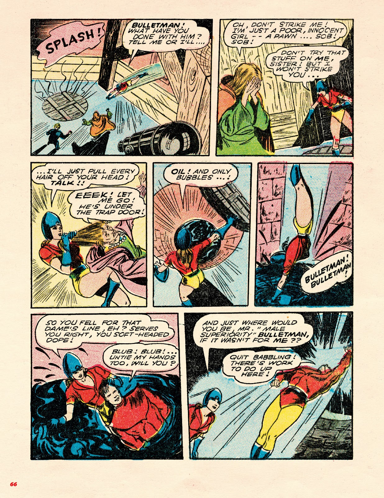 Read online Super Weird Heroes comic -  Issue # TPB 1 (Part 1) - 65