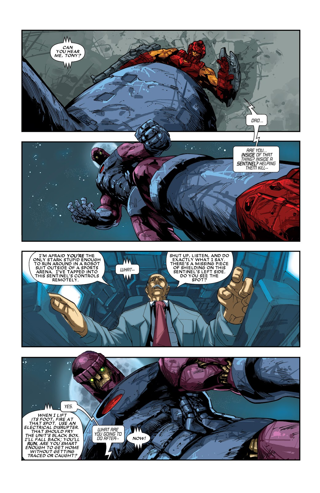 Iron Man: House of M Issue #2 #2 - English 3