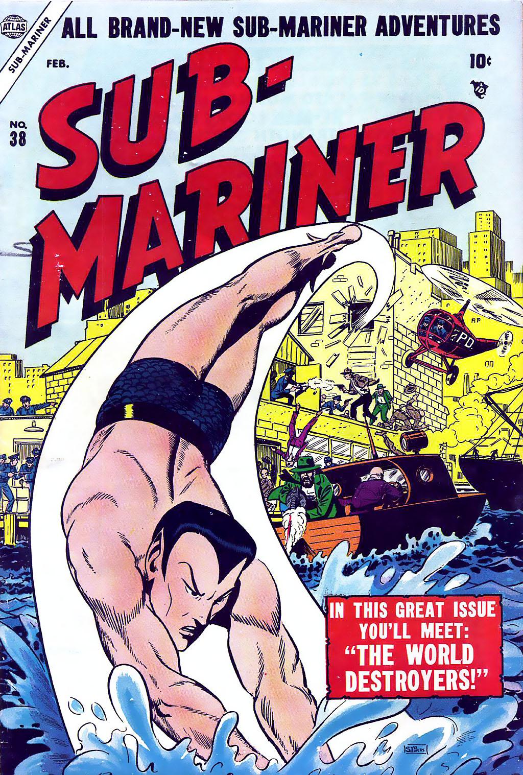 Sub-Mariner Comics 38 Page 1