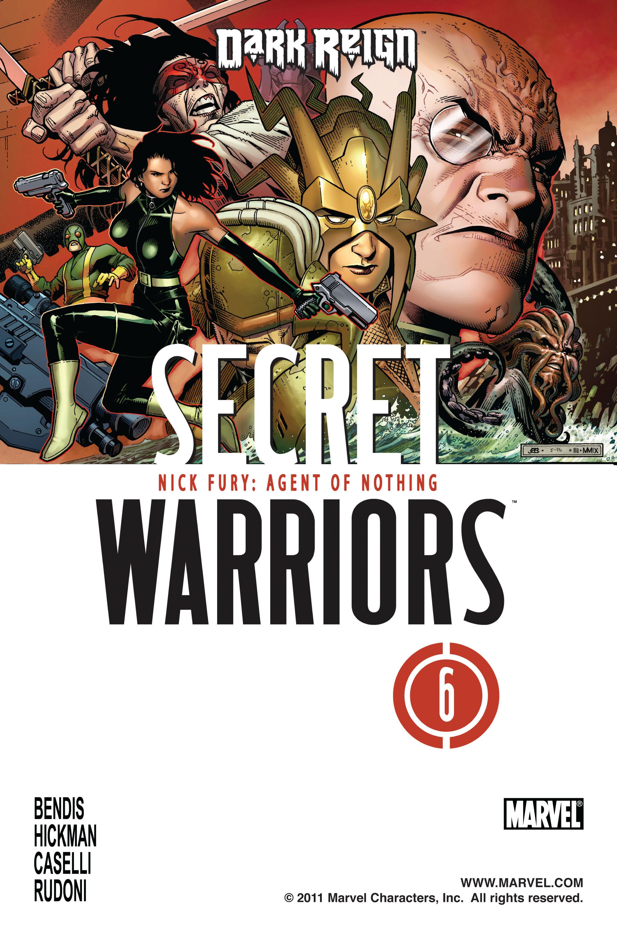 Read online Secret Warriors comic -  Issue #6 - 2