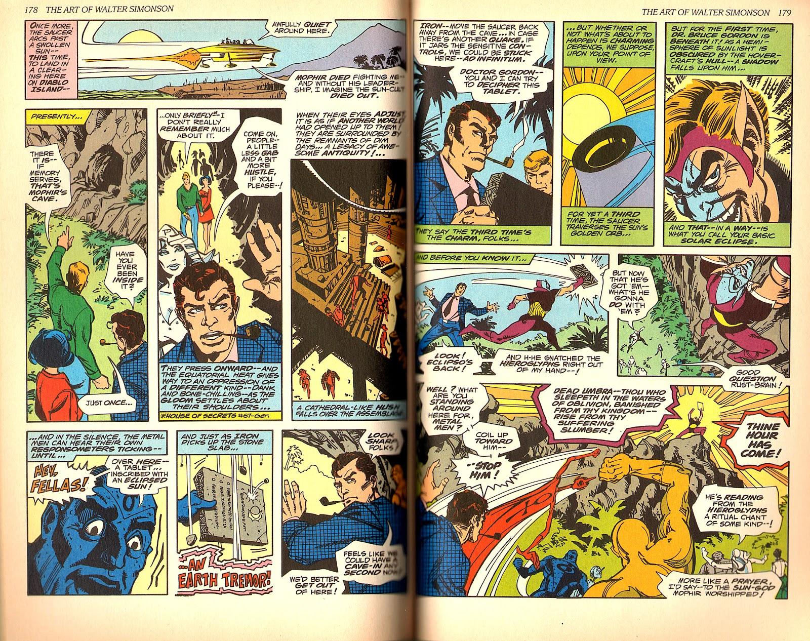 Read online The Art of Walter Simonson comic -  Issue # TPB - 91