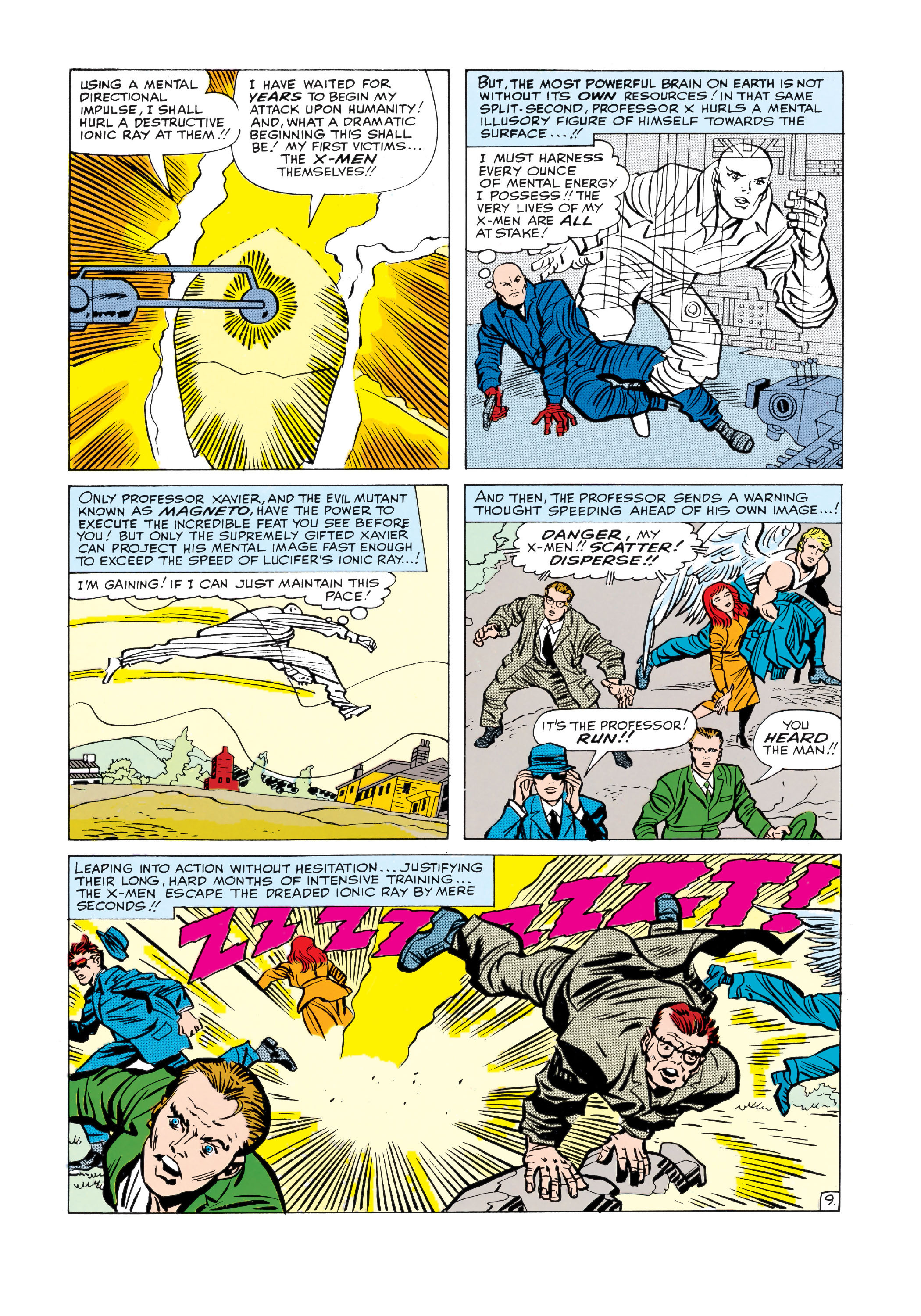 Read online Uncanny X-Men (1963) comic -  Issue #9 - 10