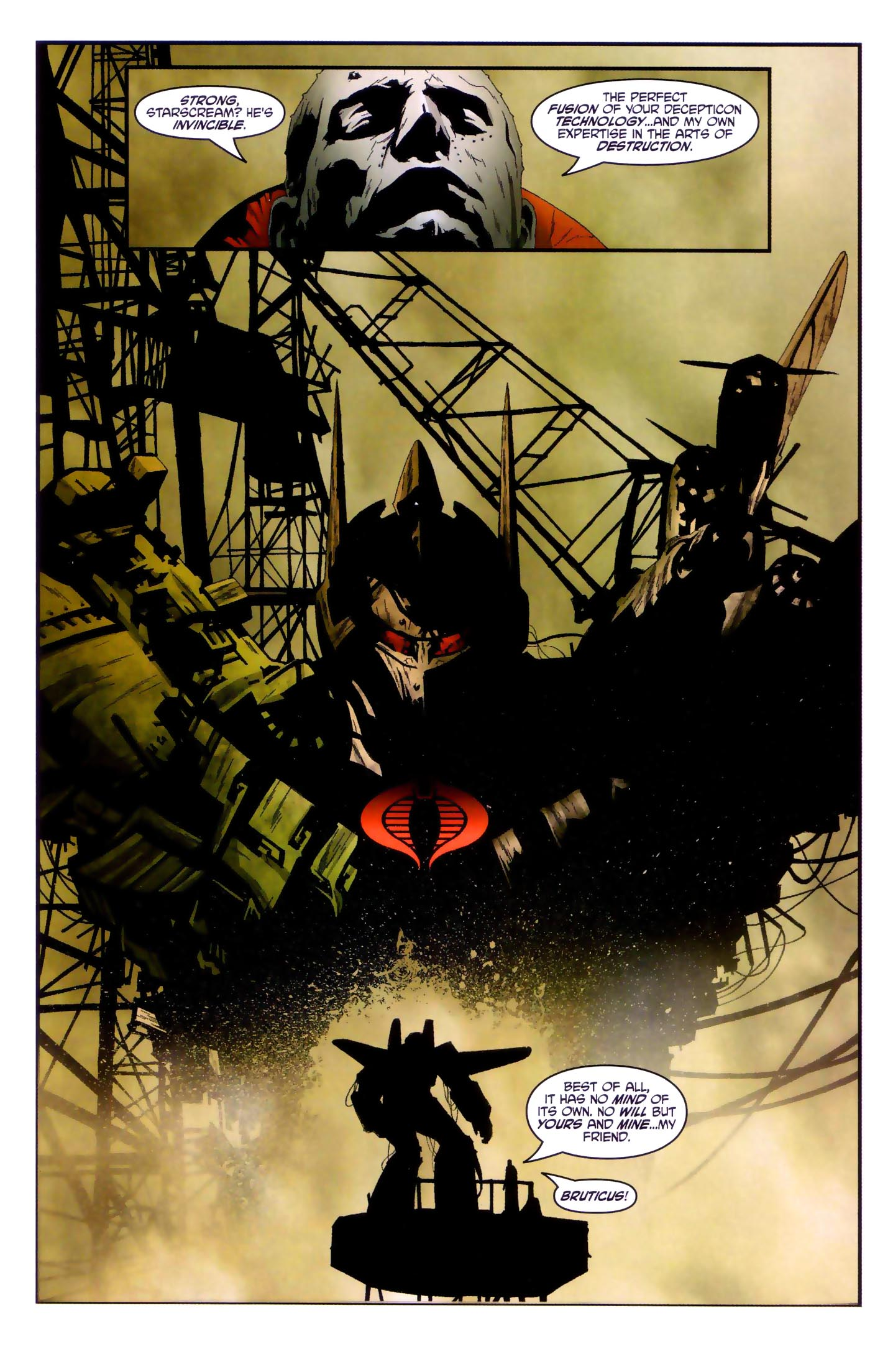 Read online Transformers/G.I. Joe comic -  Issue #4 - 19