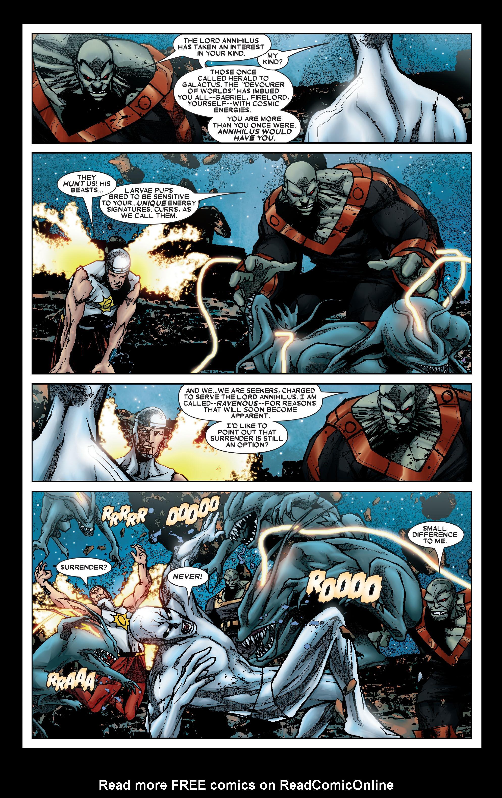 Read online Annihilation: Silver Surfer comic -  Issue #1 - 9