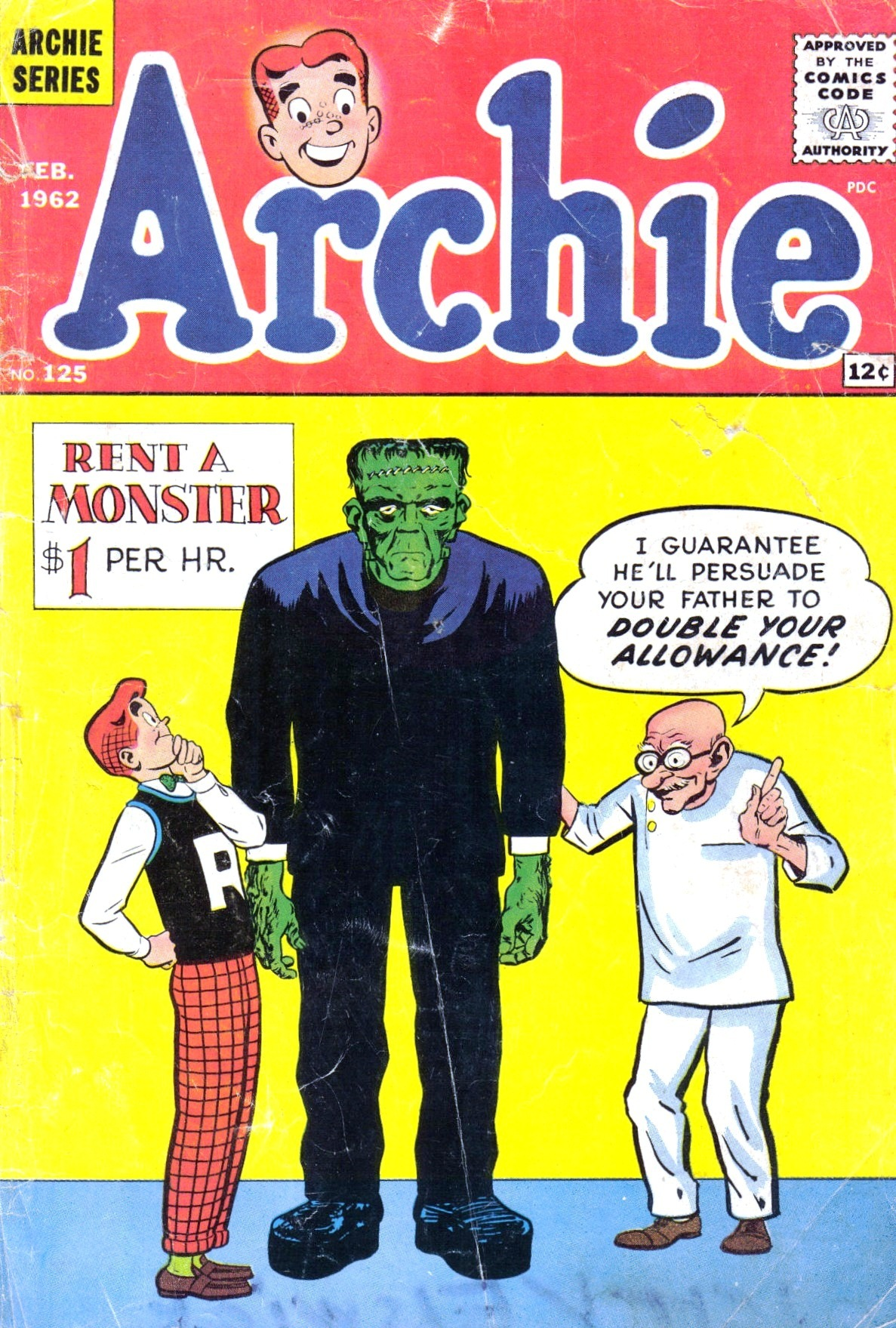 Read online Archie (1960) comic -  Issue #125 - 1