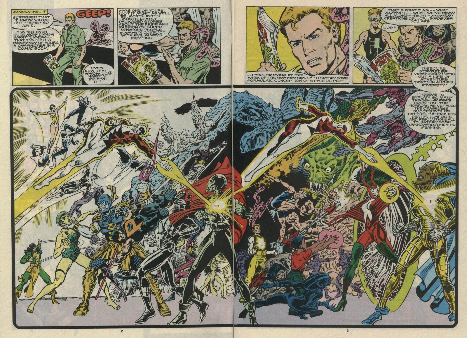 Read online Alpha Flight (1983) comic -  Issue #66 - 4