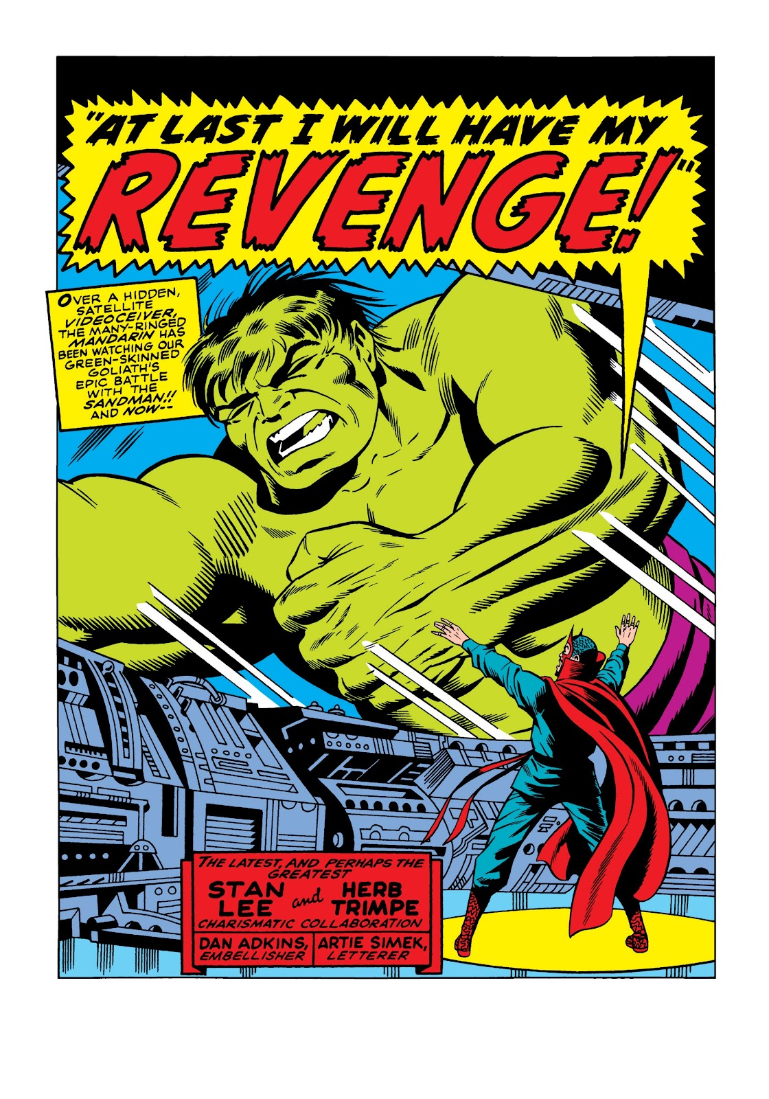 Read online Marvel Masterworks: The Incredible Hulk comic -  Issue # TPB 5 (Part 1) - 70