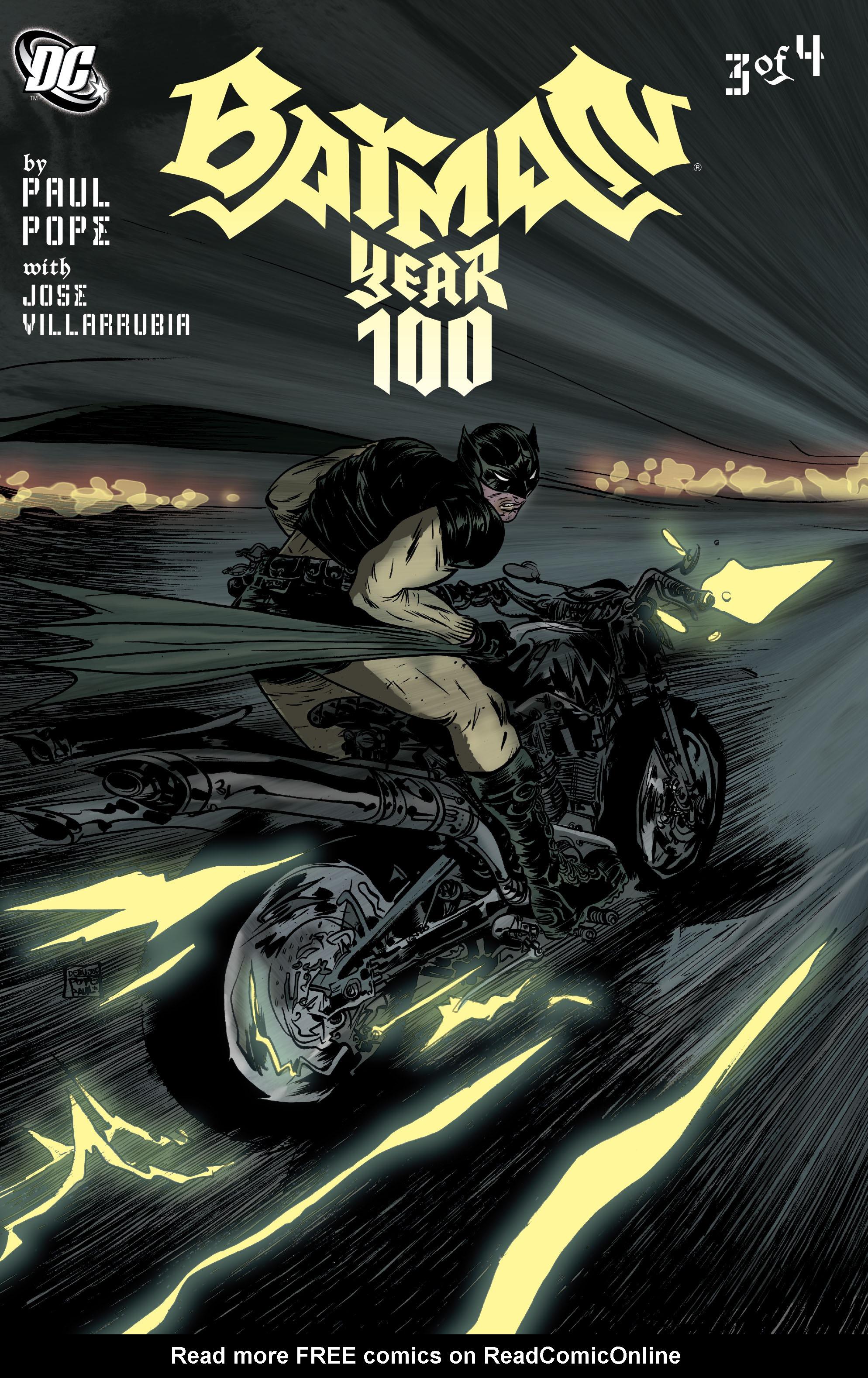 Batman: Year 100 3 Page 1