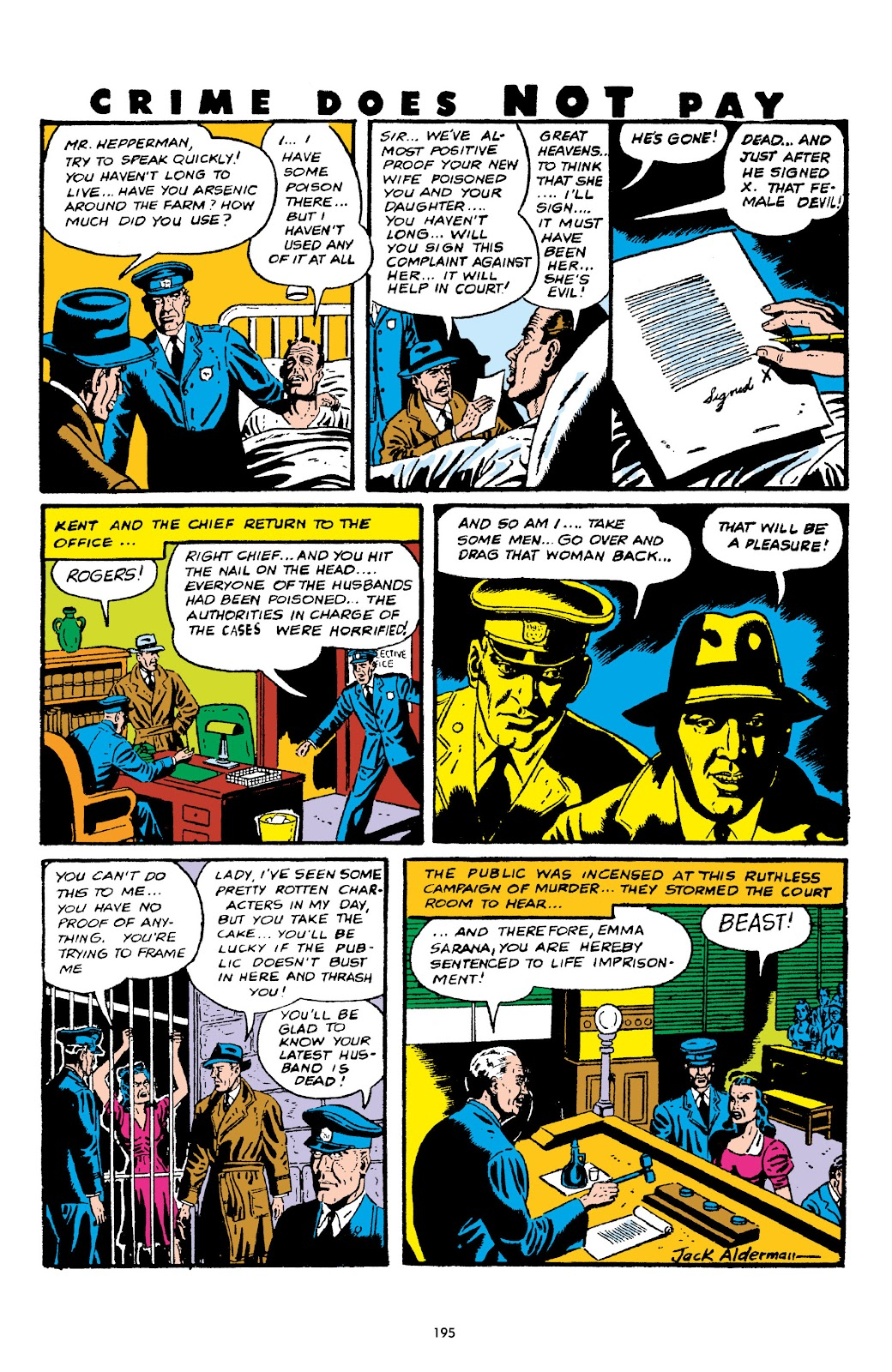Read online Crime Does Not Pay Archives comic -  Issue # TPB 5 (Part 2) - 95