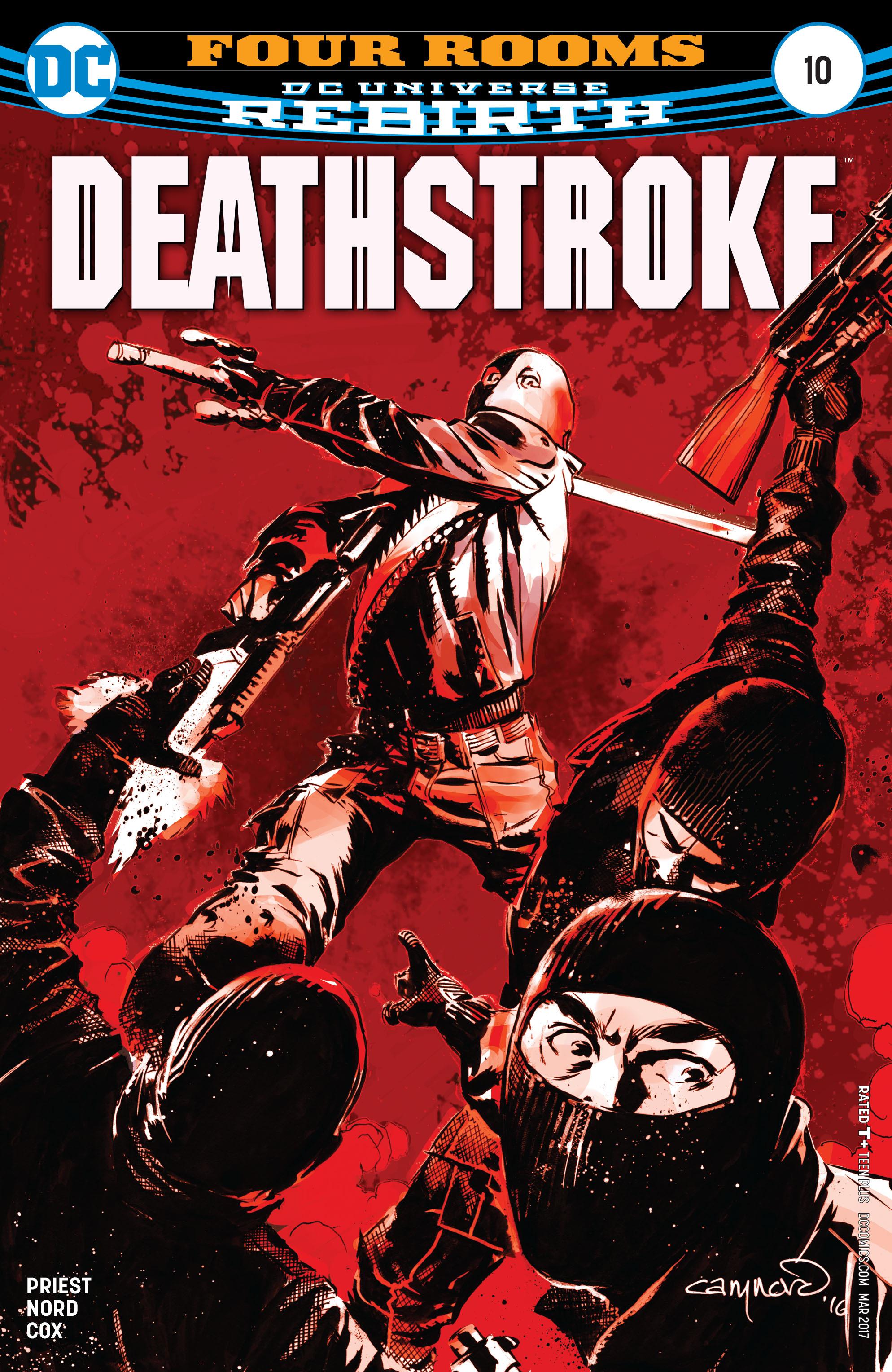 Deathstroke (2016) 10 Page 1