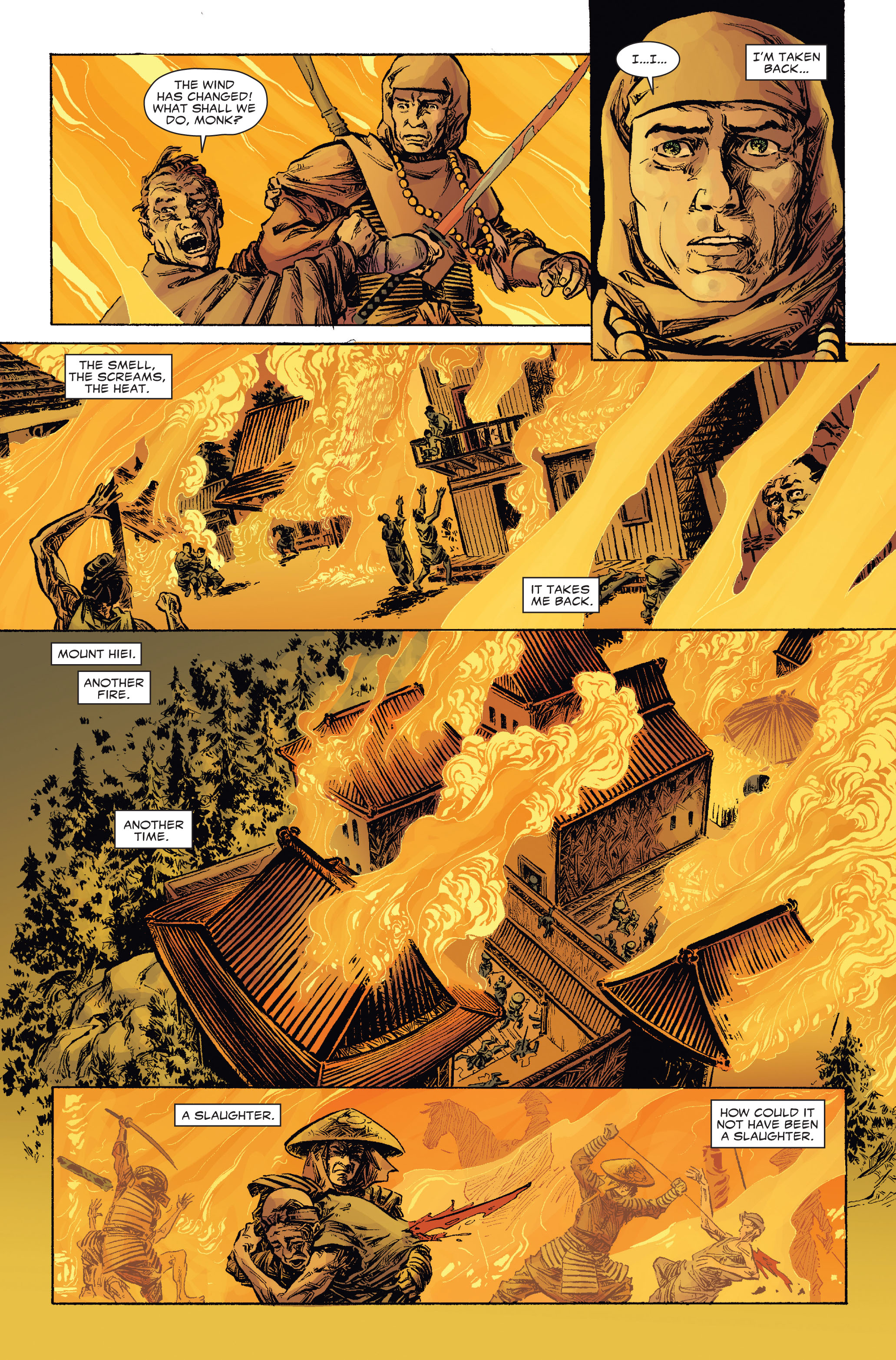 Read online 5 Ronin (2011) comic -  Issue #2 - 18