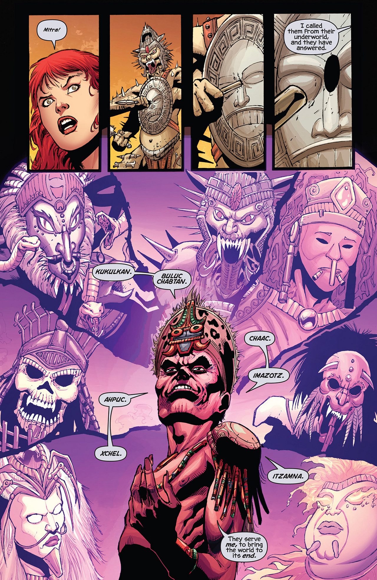 Read online Prophecy comic -  Issue #3 - 7