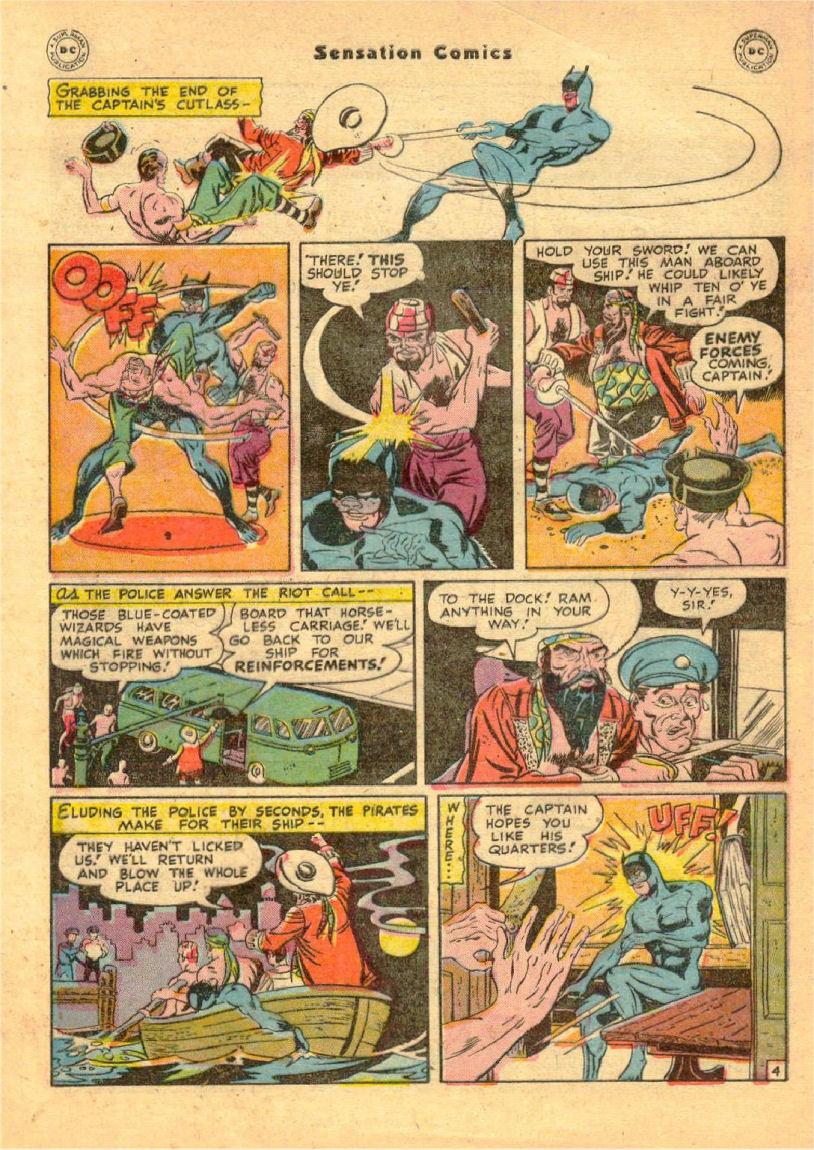 Read online Sensation (Mystery) Comics comic -  Issue #70 - 45