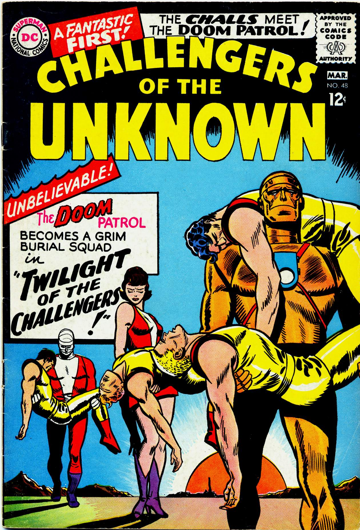 Challengers of the Unknown (1958) 48 Page 1