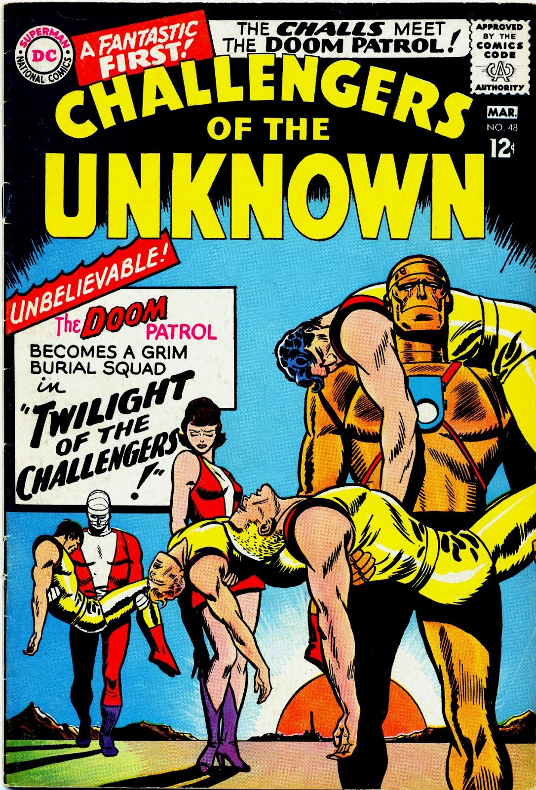 Challengers of the Unknown (1958) issue 48 - Page 1