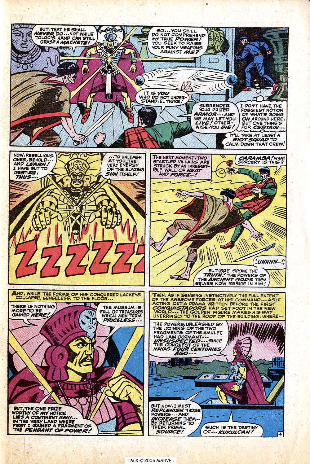 Read online Uncanny X-Men (1963) comic -  Issue #74 - 7