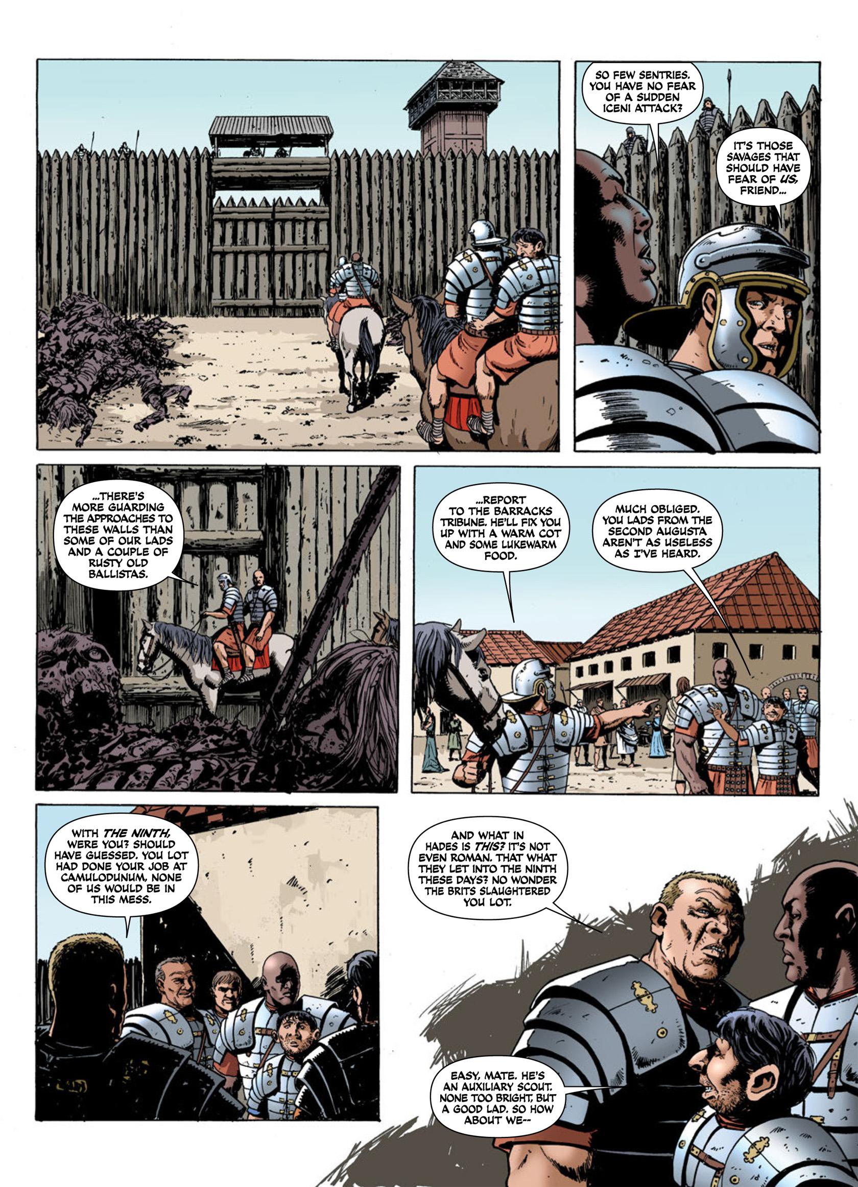 Read online Aquila comic -  Issue #1 - 26