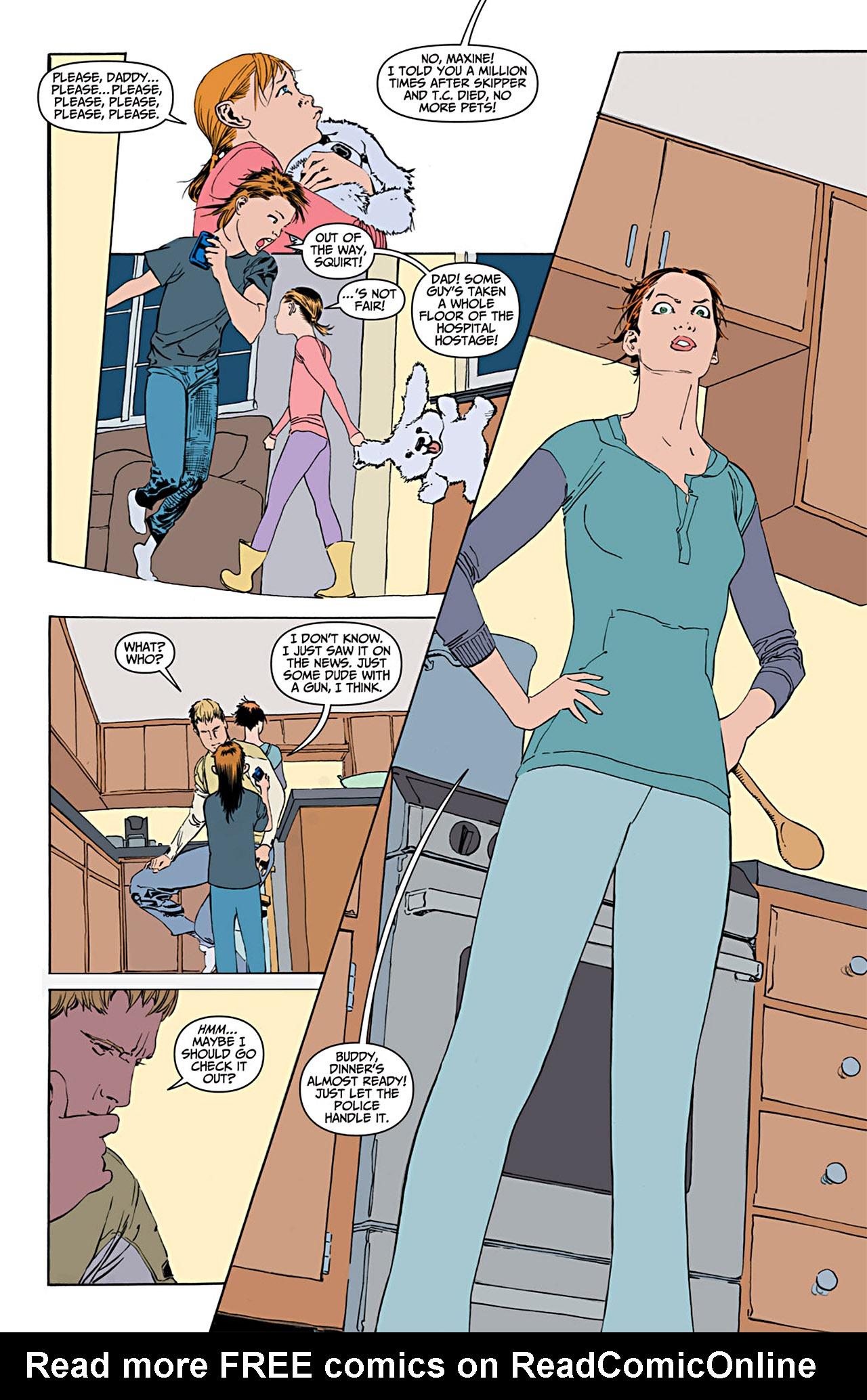 Read online Animal Man (2011) comic -  Issue #1 - 6