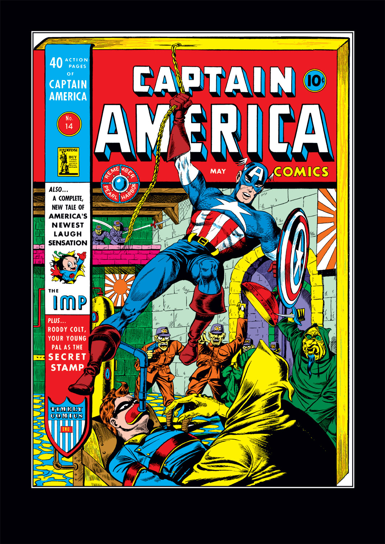Captain America Comics 14 Page 1