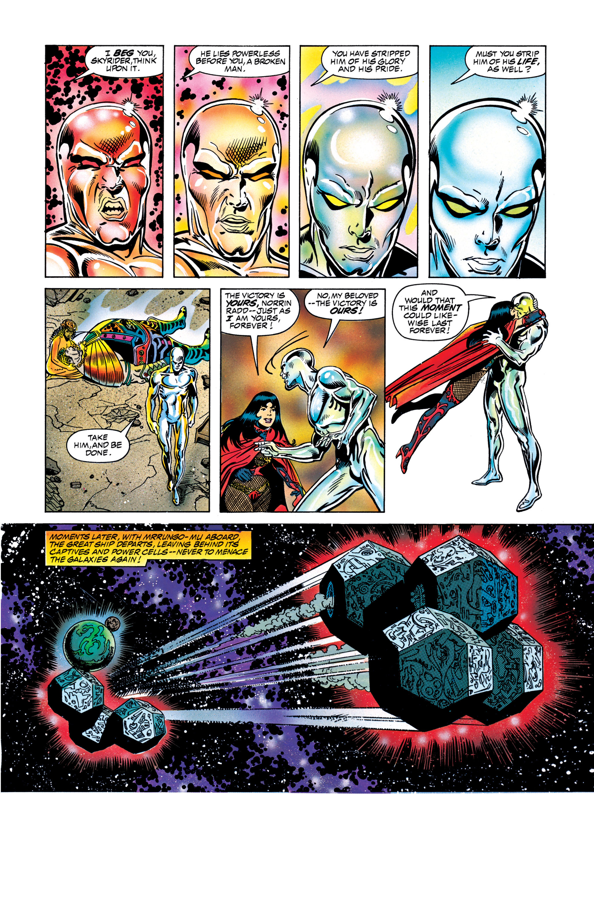 Read online Silver Surfer: Parable comic -  Issue # TPB - 128