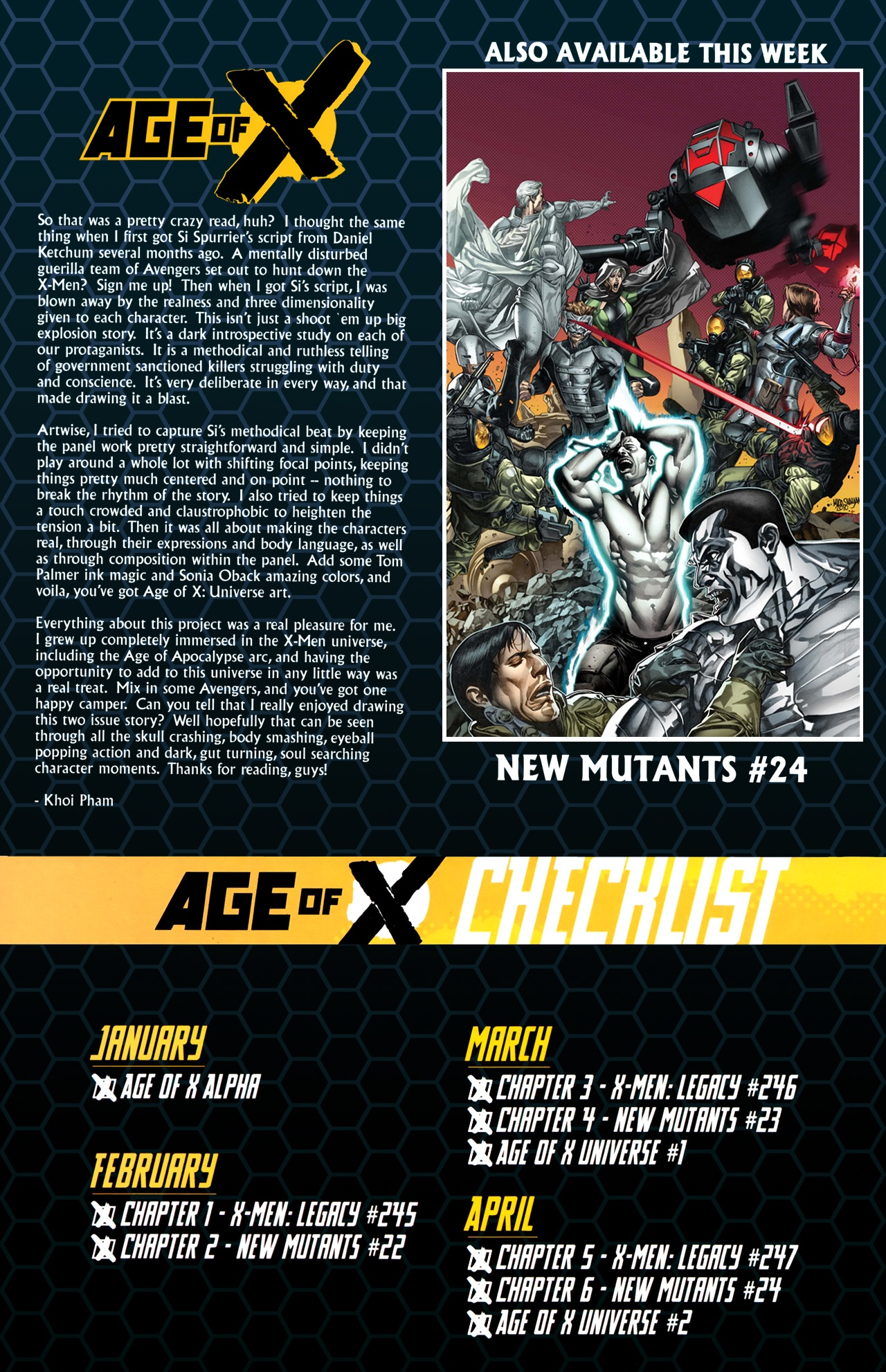 Read online Age of X: Universe comic -  Issue #2 - 33