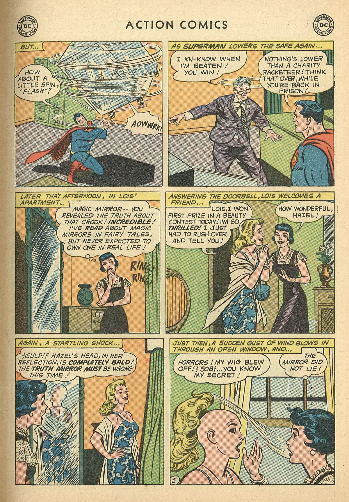 Read online Action Comics (1938) comic -  Issue #269 - 7