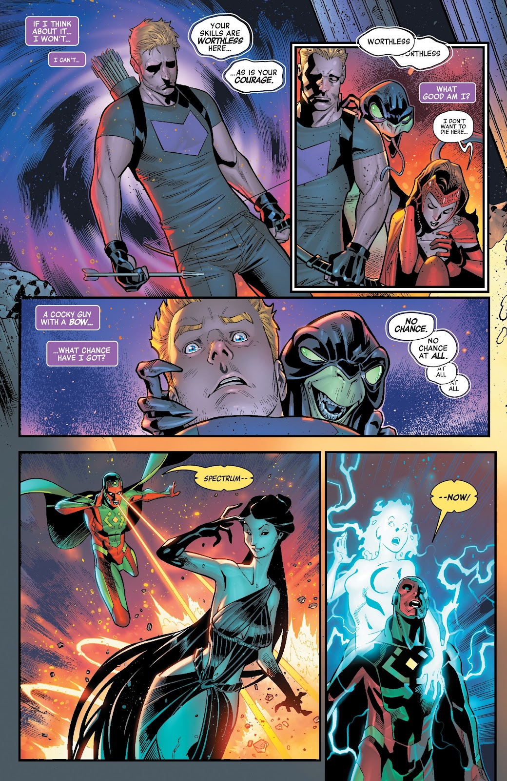 Read online Avengers No Road Home comic -  Issue #2 - 16