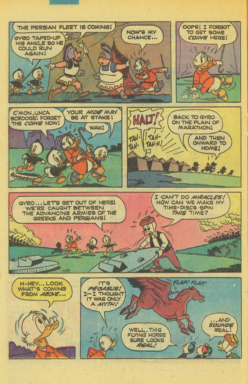 Read online Uncle Scrooge (1953) comic -  Issue #169 - 16