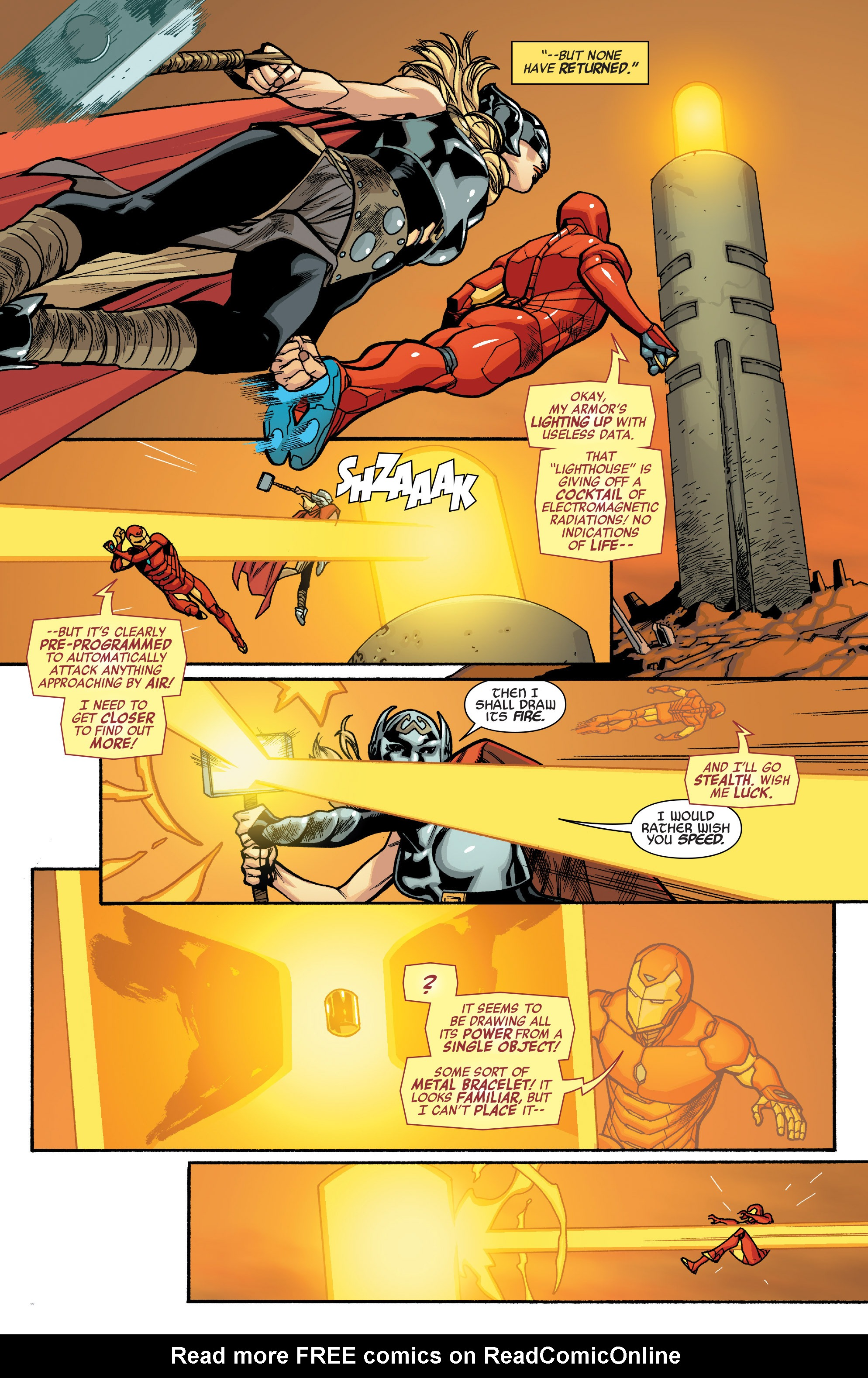 Read online All-New, All-Different Avengers comic -  Issue #10 - 10