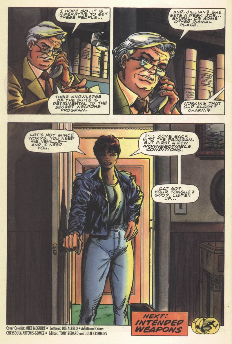 Read online Secret Weapons comic -  Issue #14 - 22