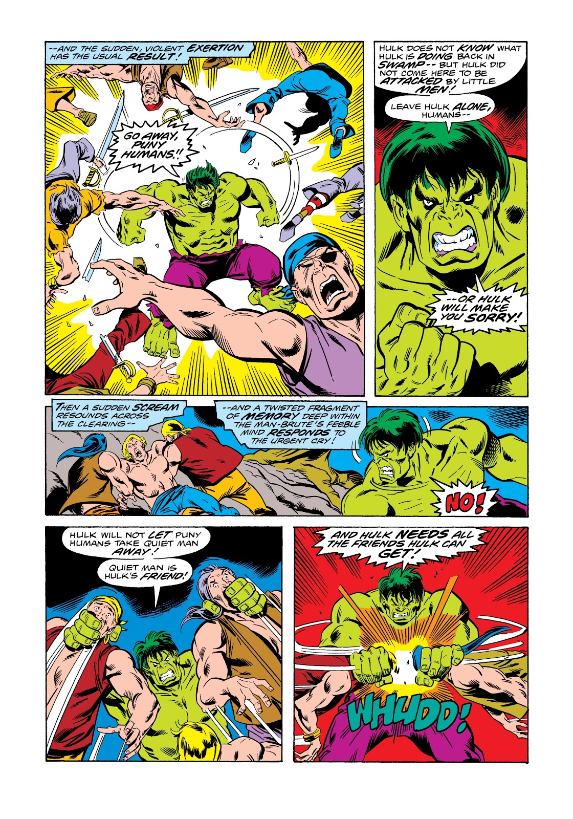 Read online Marvel Masterworks: The Incredible Hulk comic -  Issue # TPB 12 (Part 1) - 20