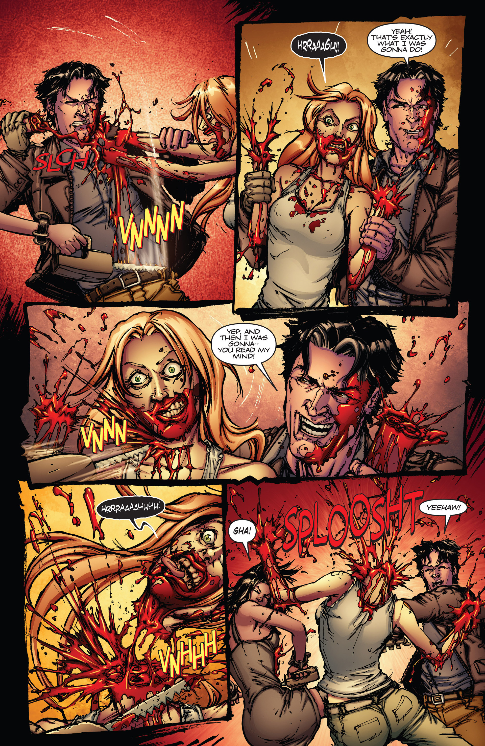 Read online Army of Darkness vs. Hack/Slash comic -  Issue #1 - 23