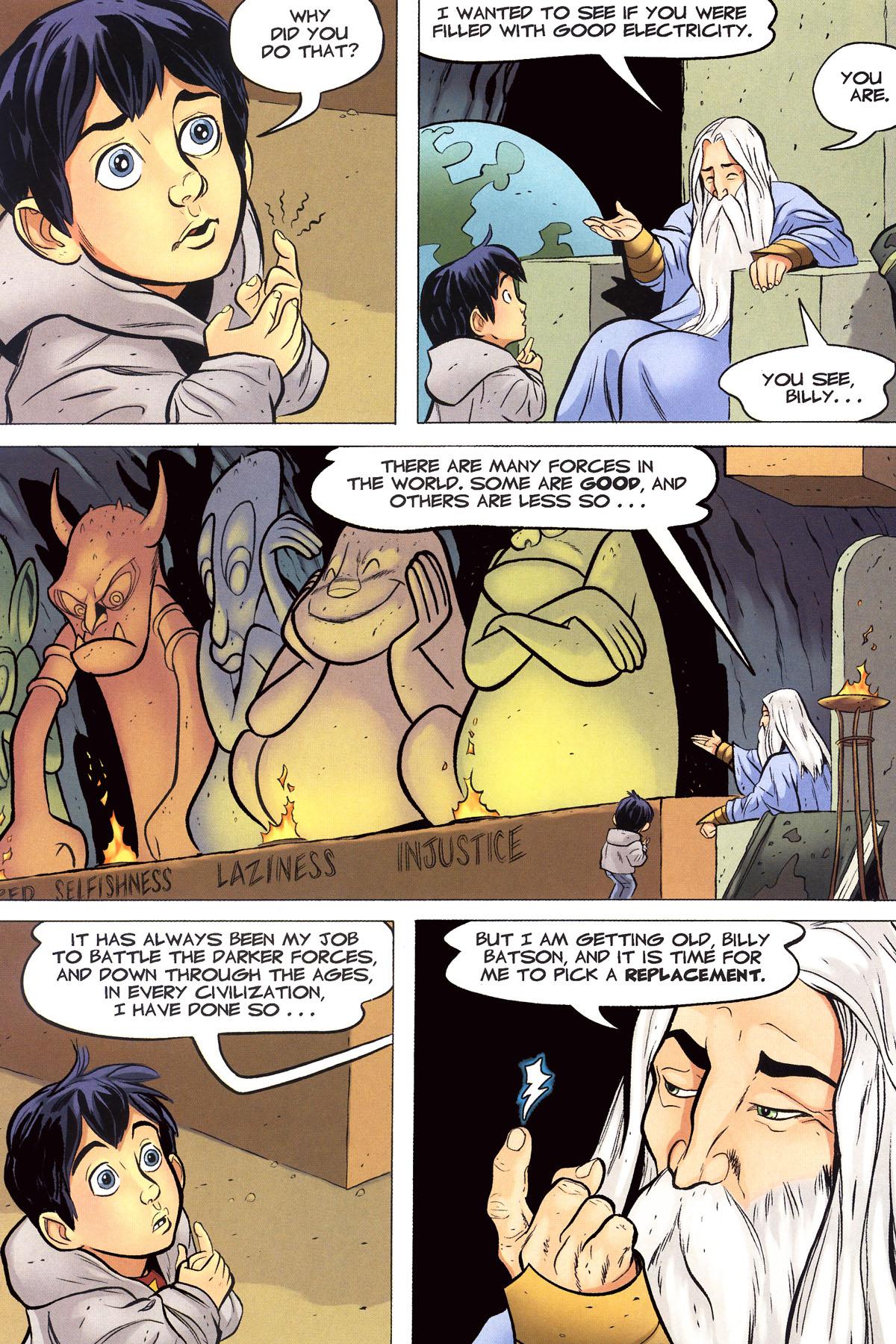 Read online Shazam!: The Monster Society of Evil comic -  Issue #1 - 21