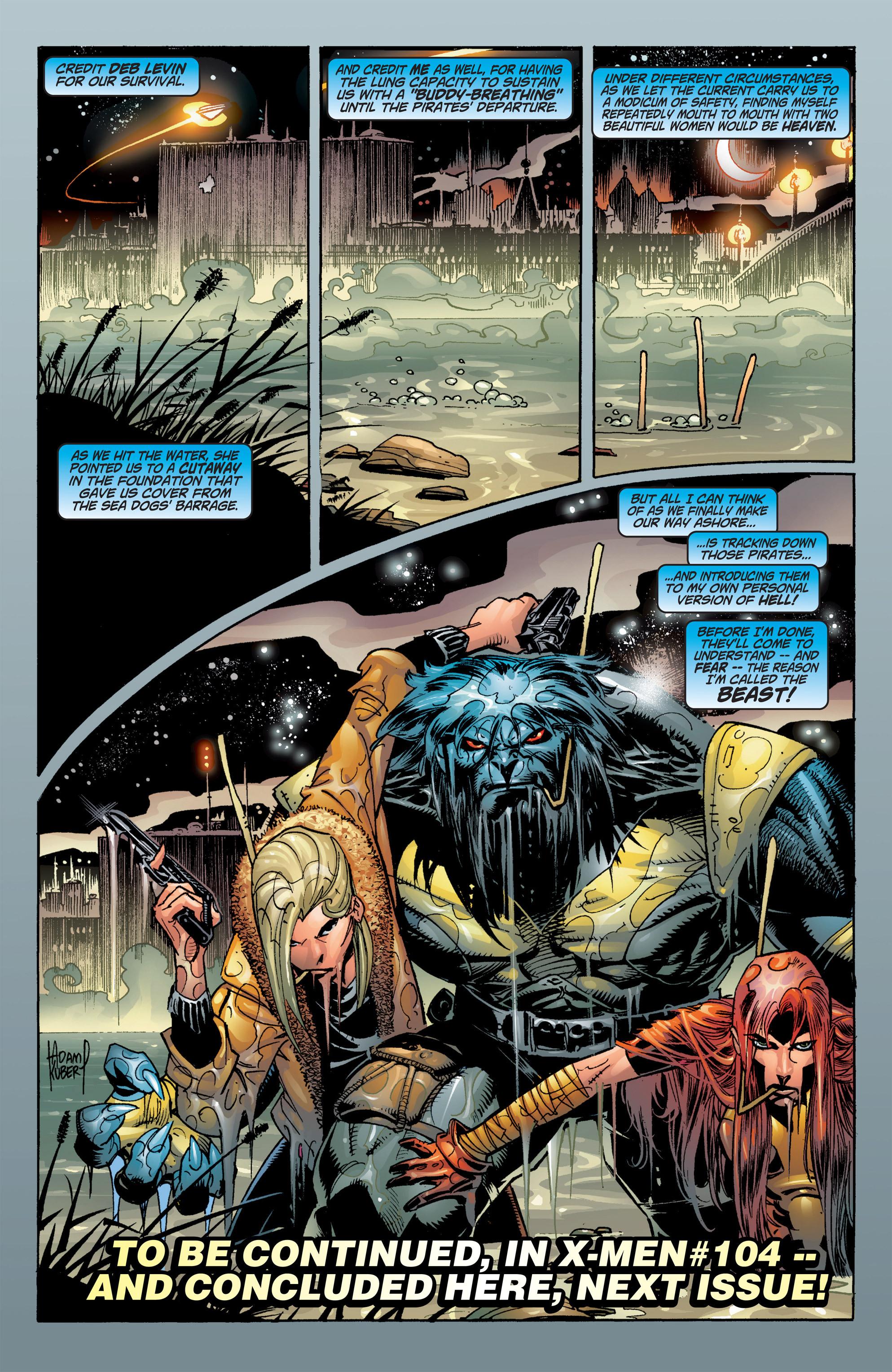 Read online Uncanny X-Men (1963) comic -  Issue #384 - 21