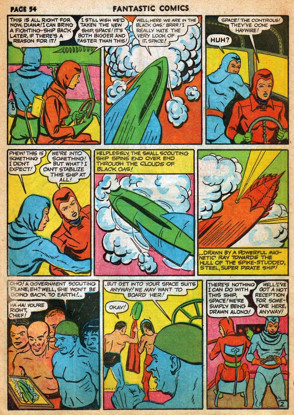 Read online Fantastic Comics comic -  Issue #22 - 55
