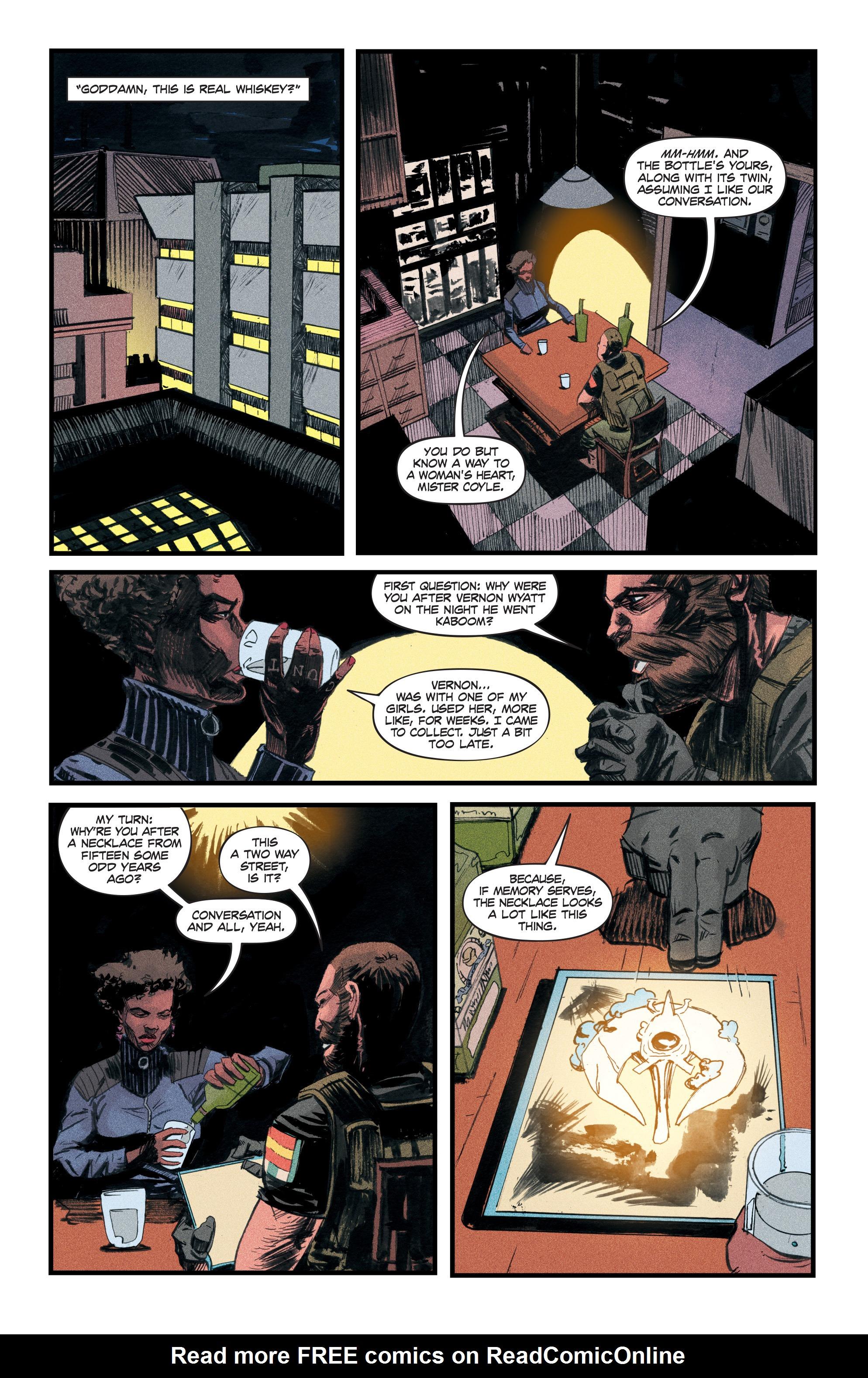 Read online Redline comic -  Issue #3 - 20