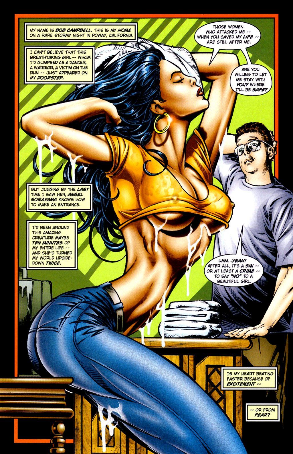 Read online Jade Warriors comic -  Issue #2 - 7