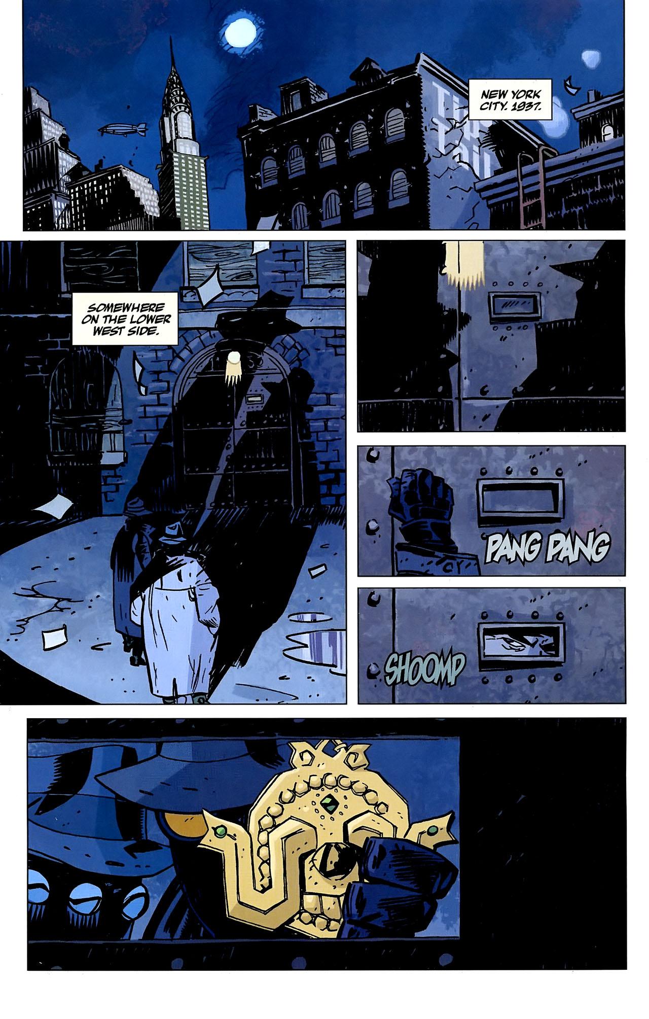 Read online Lobster Johnson: The Iron Prometheus comic -  Issue #2 - 3