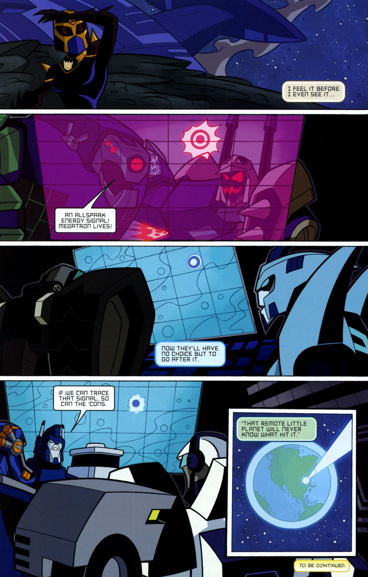 Read online Transformers Animated: The Arrival comic -  Issue #1 - 25