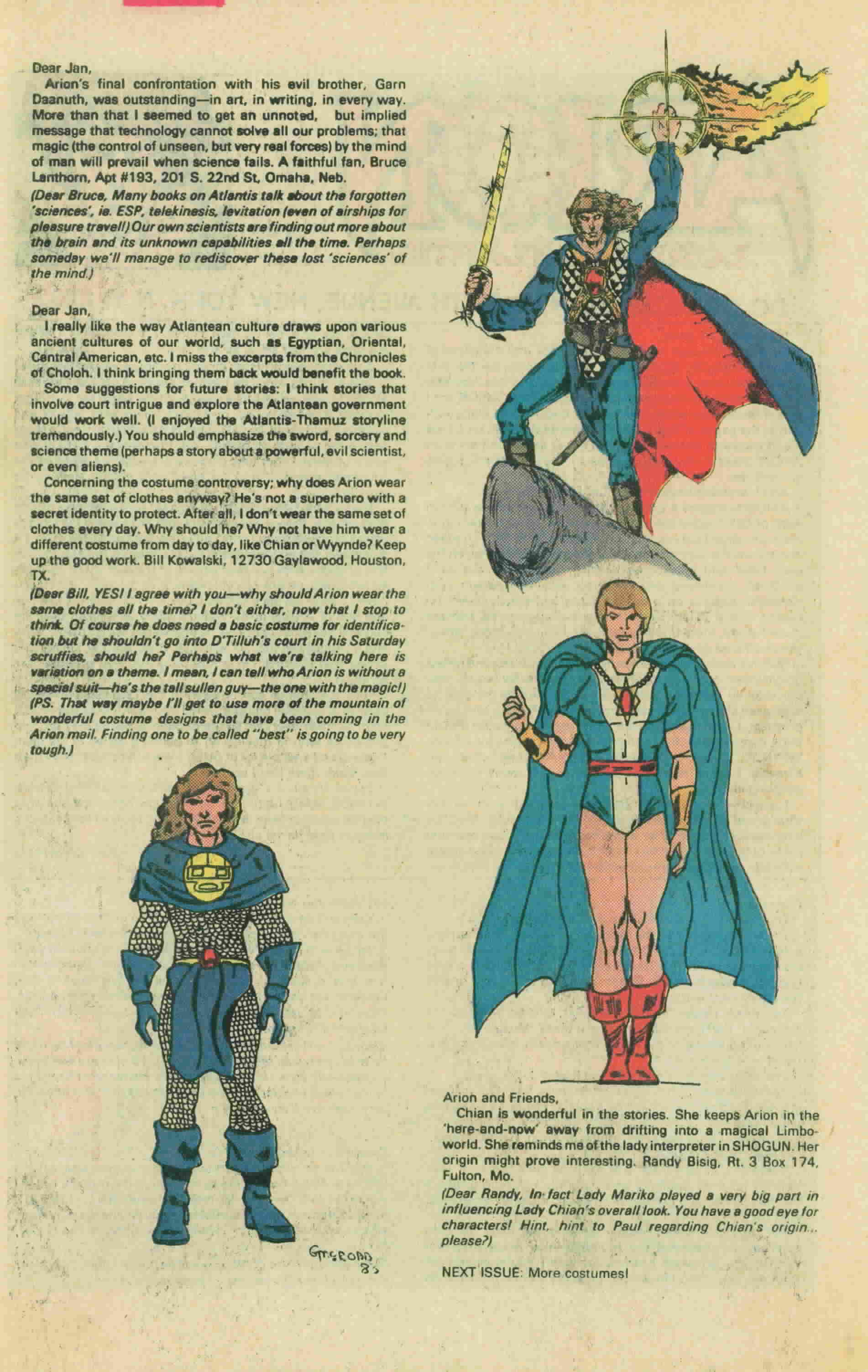 Read online Arion, Lord of Atlantis comic -  Issue #13 - 35