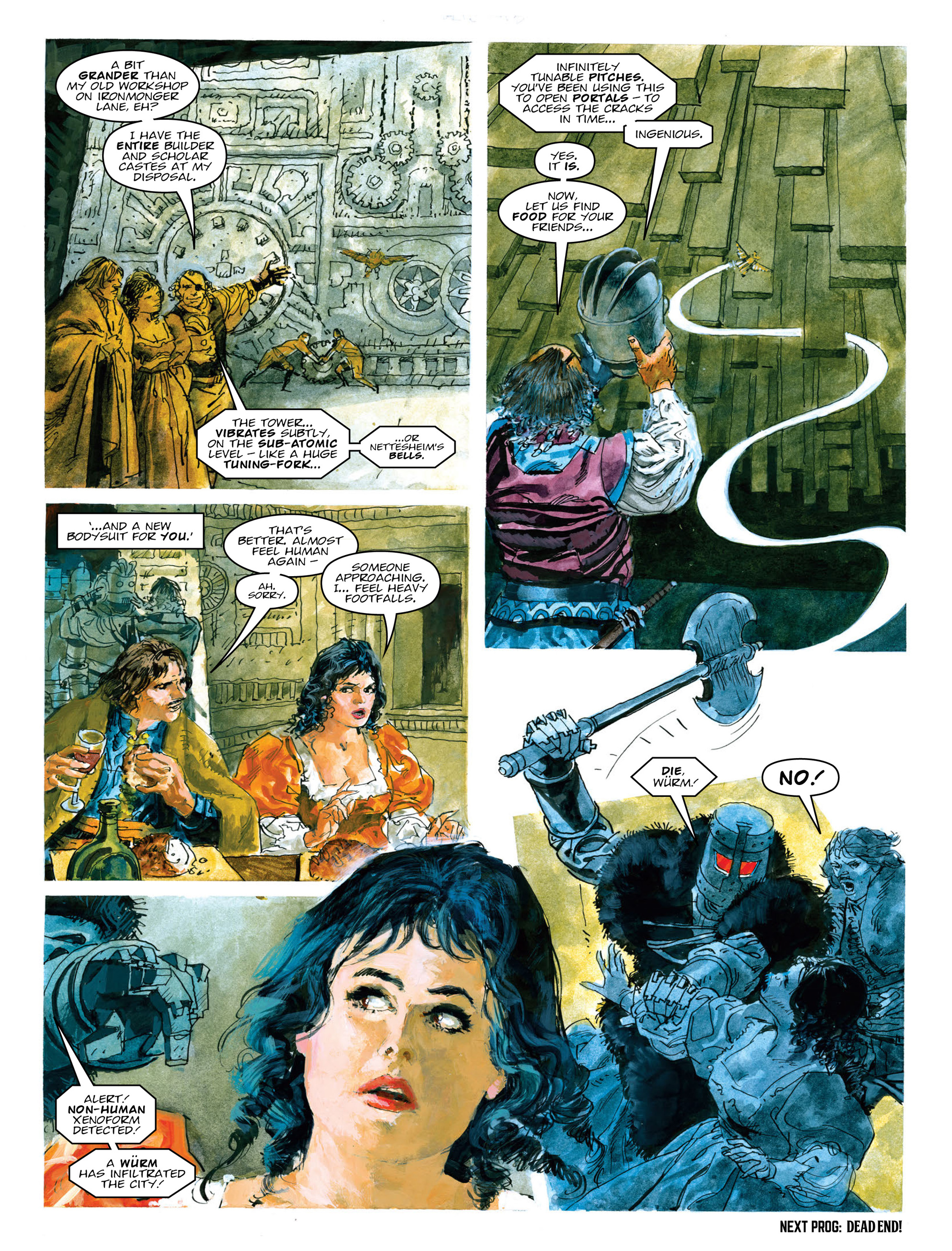 Read online 2000 AD comic -  Issue #2015 - 24