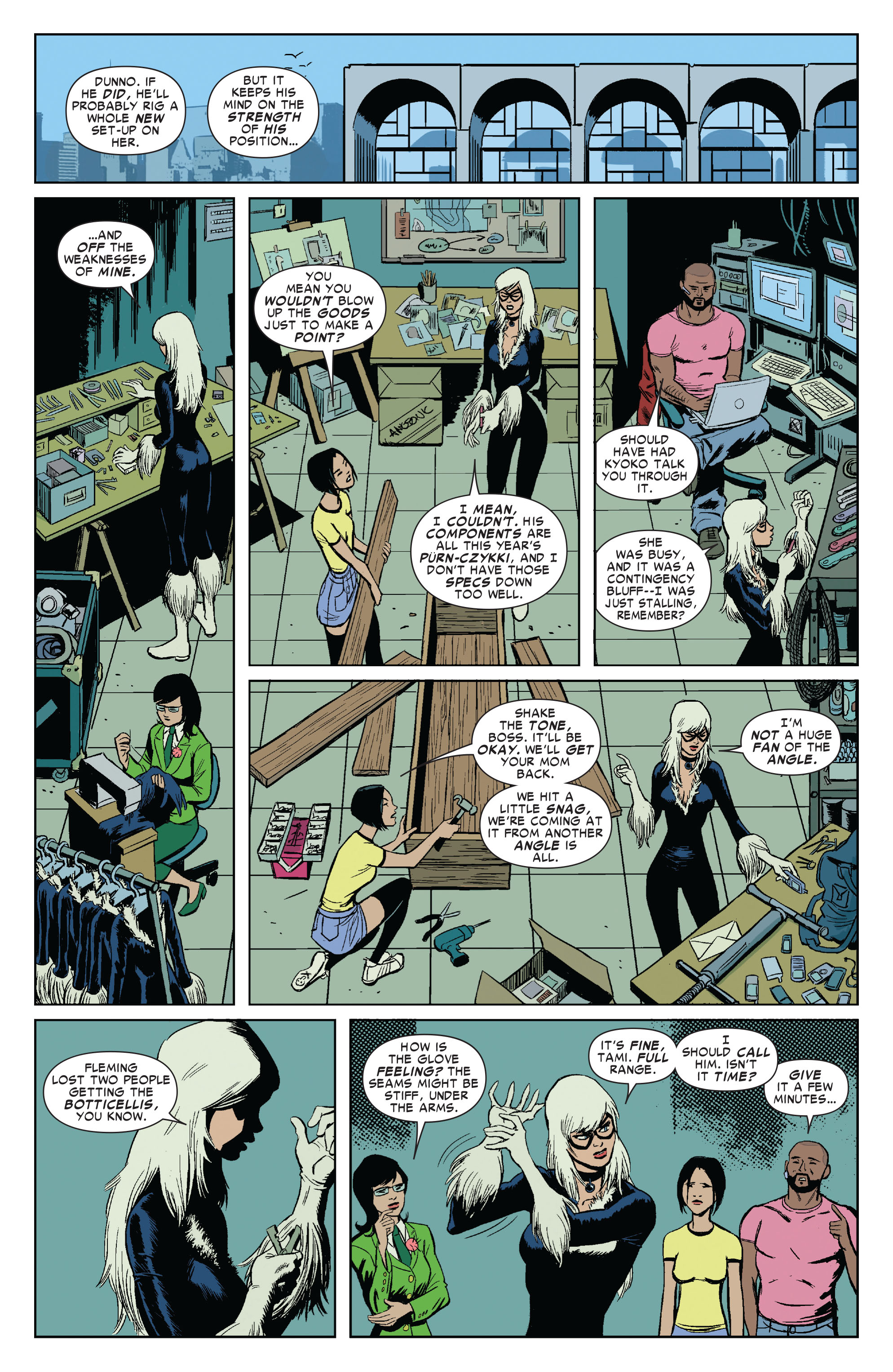 Read online Amazing Spider-Man Presents: Black Cat comic -  Issue #3 - 8