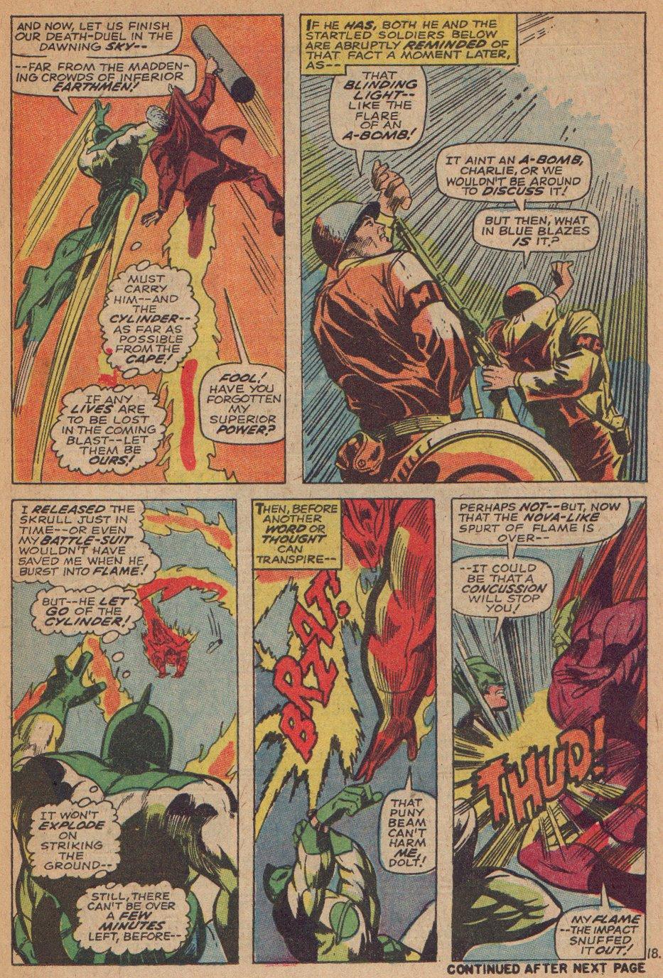 Captain Marvel (1968) Issue #3 #3 - English 19