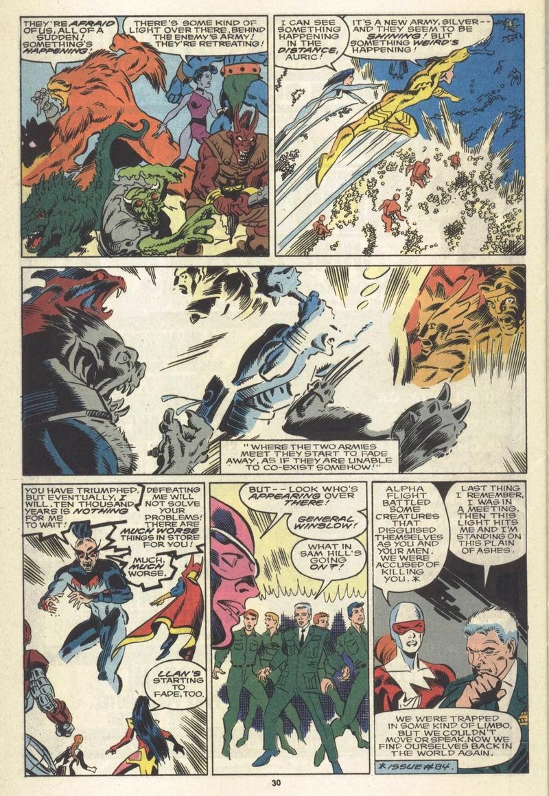 Read online Alpha Flight (1983) comic -  Issue #86 - 24